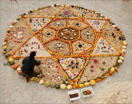 Mandala le jardin p dagogique de la ferme de sainte marthe for Jardin mandala