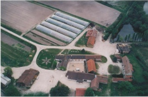 Photo aérienne ferme de Sainte Marthe
